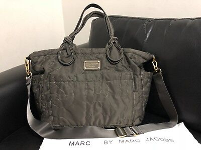 Authentic Marc Jacobs By Marc Jacobs ELIZA Baby Nappy Diaper Bag W/ Strap