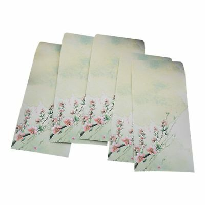 10 Pieces Vintage Chinese Style Vintage Craft Paper Envelope For Letter Pap L5F1