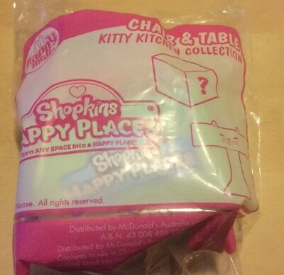 McDonald's Happy Meal Toy Shopkins Happy Places