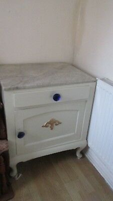 GOOD QUALITY storage cupboard,, marble top french pick up gateshead ...