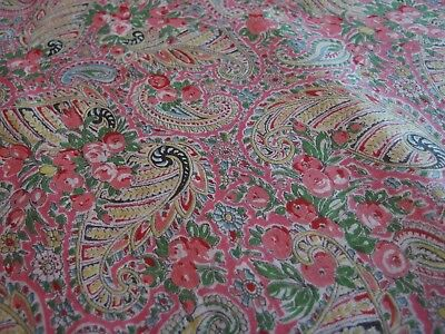 antique paisley bed quilt ida down cover textile