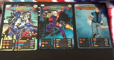 Spider-Man Heroes And Villain Trading Cards 41 Cards