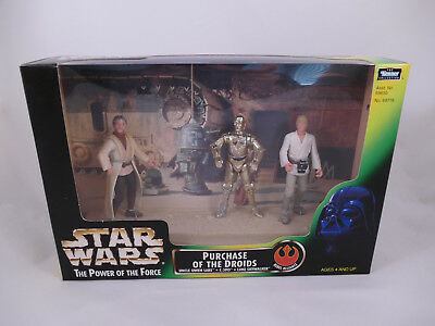 Star Wars Potf2 Purchase Of The Droids Cinema Scene Misb