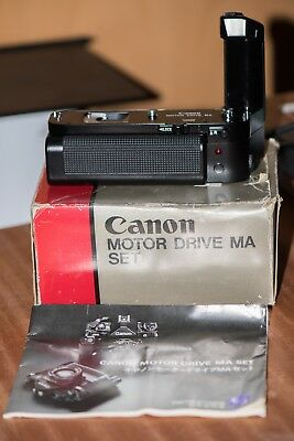Canon Motor Drive MA Set for A-1 and AE-1 Program cameras - Boxed