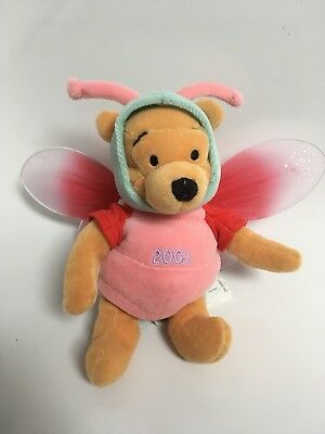 Disney Store Winnie The Pooh Easter Dragonfly 2001  Beanie Very Rare Brand New