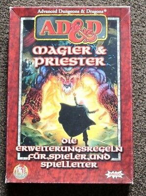 """AD&D / D&D, Dungeons&Dragons """"Magier und Priester"""" Box"""