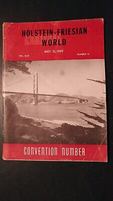 Holstein World 1949 Convention Issue + Honor List Sires +Famous Minnesota Herds