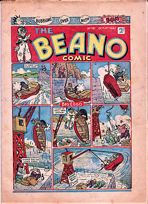 BEANO # 191 October 24th 1942  issue comic