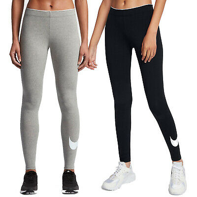 Nike Leggings Club Logo2 Damen Sporthose Leggins Trainingshose lang  Fitnesshose c5e0f72bb1911