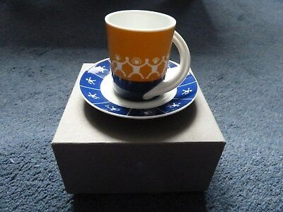 Rosenthal Studio-Line limited edition Sky Chefs espresso cup & saucer #6 in box
