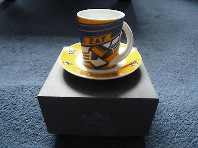 Rosenthal Studio-Line limited edition Sky Chefs espresso cup & saucer #4 in box