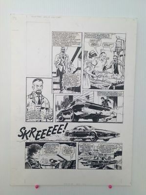 Original Comic Art of KNIGHT RIDER by Barrie Mitchell