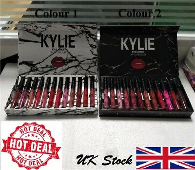 🔔Kylie Jenner 12pcs Matte 💋 Liquid Lipstick Lip Kit - LIMITED STOCK🎁