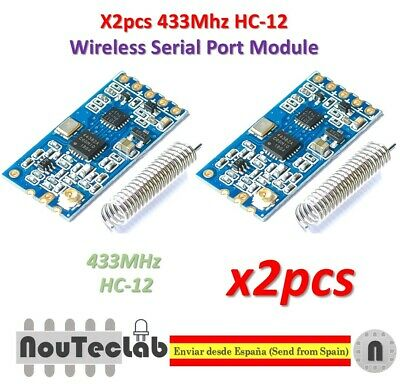 A38 433Mhz HC-12 SI4463 Wireless Serial Port Module 1000m Replace antenna