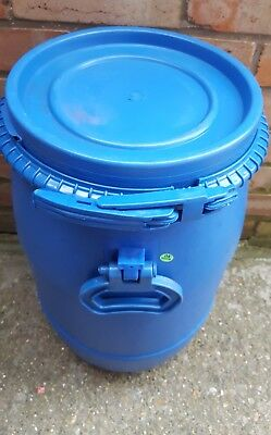 1 x Plastic Drum Keg Oil Storage  Barrel   Containers Water 30ltr
