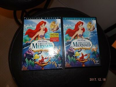 Disney:The Little Mermaid (2 DVD Platinum Edition) Slipcover