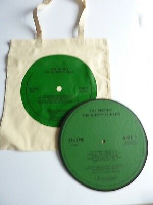 The Smiths The Queen Is Dead Turntable Slip Mat & Tote Bag New  Official Promo