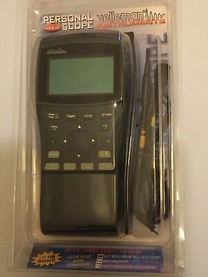 VELLEMAN PERSONAL SCOPE HPS10 Oscilloscope  -  New Retail Pack