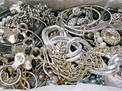 Huge Vintage-Now Junk Drawer Estate Find Untested Unsearched Jewelry Lot