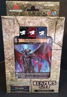 Bushiroad Dragoborne Rise to Supremacy Reapers Gift DB-TD04 Trial Deck