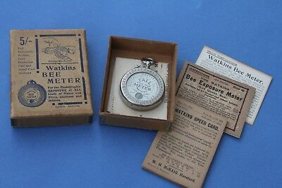 Lovely WATKINS FALL METER – Boxed, Instructions