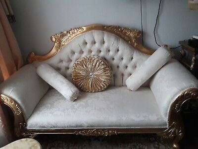Antique  stile French Louis xv with solid large Gold leaf gilt