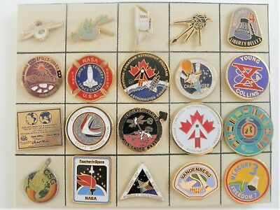 Pins  Nasa / Fusee / Navette / Espace  20 Pins Differents Superbe