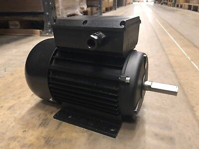 Replacement 750W 230V IP44 1ph AC 1400RPM Induction Motors With 4 Mounting Holes