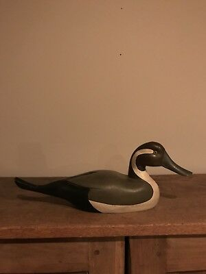 Vintage Wooden Pintail Decoy