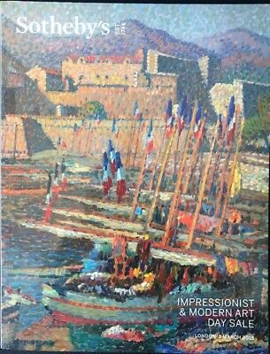 Sotheby's Impressionist & Modern Art Day Sale, London 1 March 2018 NEW Picasso