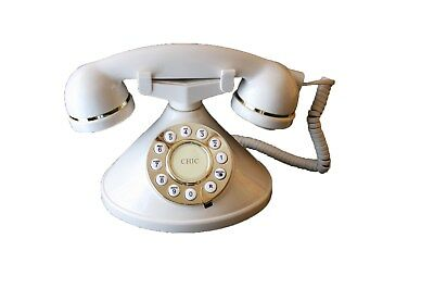 Mybelle Chic Telephone in Ivory, Brand New in original retail Box