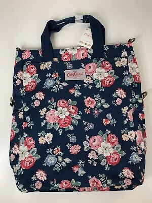 Cath Kidston Fold Over Nappy Changing Bag Forest Bunch Blue Floral