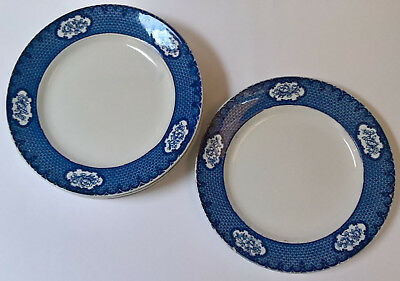 "6 Art Deco Losol Ware ""Cranford"" 9.5 inch Plates (Keeling & Co Ltd)"