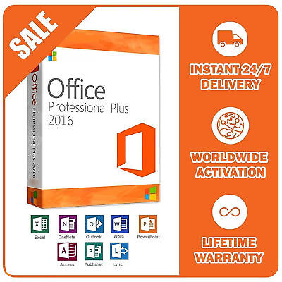 Genuine Microsoft Office 365 Professional Plus 5 Devices (2016) | Read All