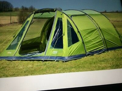Vango Icarus 500 4 5 Berth Family Tent And Canopy