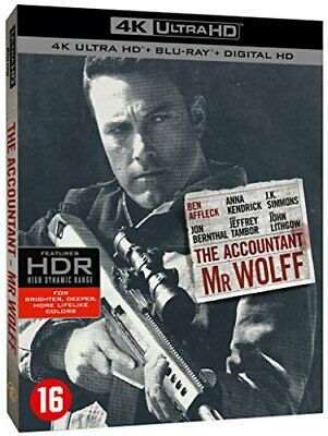 [Blu-ray] Mr. Wolff [4K Ultra HD + Blu-ray + Digital HD] - NEUF