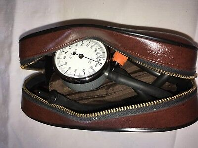 """Sphygmomanometer- Aneroid. Pocket Model.  """"Accoson"""". With carry pouch."""
