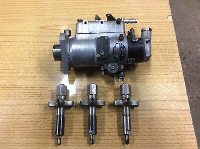 Massey Ferguson Tractor 148 Fuel Injection Pump And Injectors.