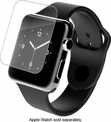ZAGG - HD Clear Shield Screen Protector for Apple Watch 38mm - Clear A38HWS-F0B