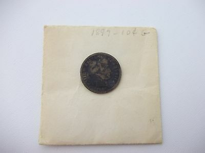 ESTATE FIND 1897-P Barber Dime 10c Ten Cents, Silver