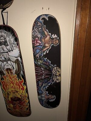 Julio De La Cruz Neighbourhood Slick Vintage Skateboard No's Rare Skateboard