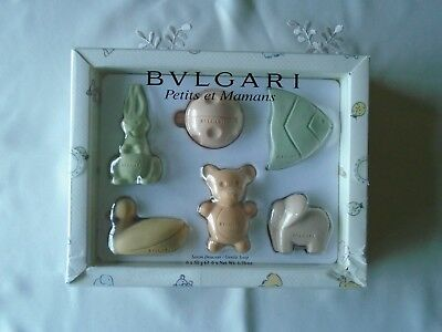 BVLGARI Petits et Mamans Designer Gentle Shaped Soap Gift Set for Babies