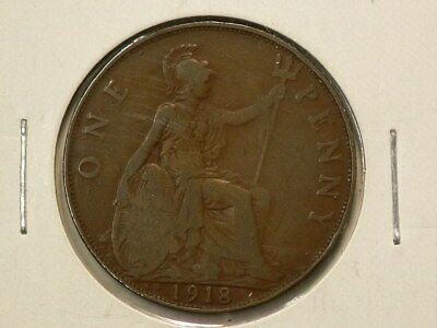 Great Britain 1918 KN Penny King Norton's Mint #G9346