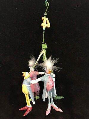 "Patience Brewster Krinkles ""Four Calling Birds"" Department 56 Ornament"
