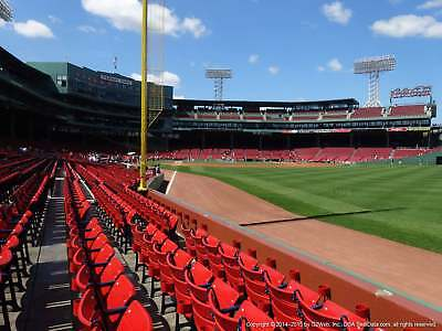 4 Tickets Boston Red Sox vs. Atlanta Braves 05/27