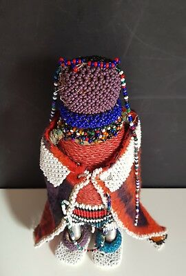 South African Authentic Vintage Ndebele Tribe doll