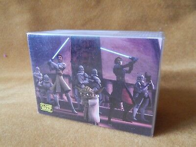 Full Set Of Star Wars Clone Wars Trading Cards Topps 2008