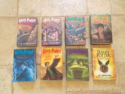 Harry Potter by J.K.Rowling Complete Hardcover Series plus Cursed Child.