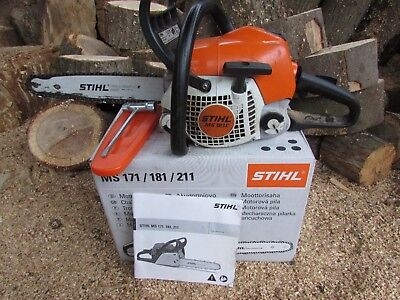 Stihl MS181 Chainsaw 14 Bar & Chain 2011 Model. like ms 171 ms 211