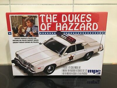 MPC Dukes Of Hazzard - Sherrif Rosco's Police Car Model Kit